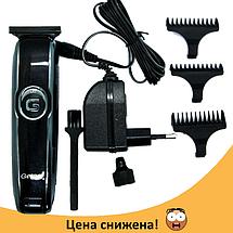 Беспроводная машинка для стрижки волос и бороды с Gemei GM-6050, фото 2