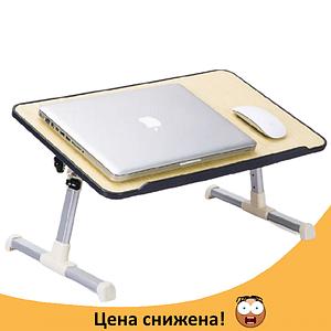 Столик для ноутбука Laptop Table A8 - складаний столик підставка для ноутбука з охолодженням Топ