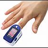 Пульсоксиметр на палець PULSE OXIMETER - портативний медичний пульсометр для вимірювання пулься і сатурації, фото 3