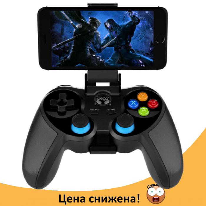 Безпровідний джойстик IPEGA PG-9157 Black - ігровий джойстик (геймпад) для телефону IOS, Android Топ