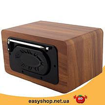 Портативная Bluetooth колонка акустическая Atlanfa AT-1822ВТ - FM радиоприемник, 6W + USB и Power Bank, фото 3