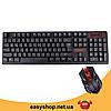 Бездротова ігрова клавіатура і миша UKC HK-6500 Топ, фото 4