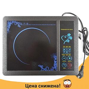 Електрична інфрачервона Domotec MS-5842 - настільна плита для всіх видів посуду Топ