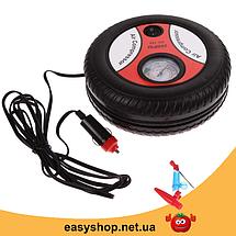 Автомобильный компрессор Air Compressor DC12V 260 PSI - Мощный Автокомпрессор для быстрой подкачки колес, фото 3