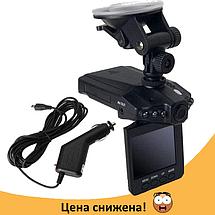 Автомобильный видеорегистратор HD DVR 198 2.5 lcd - авторегистратор со звуком и ночной съемкой, фото 3