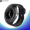 Розумні смарт годинник Smart Watch Y1S з слотом під SIM карту Чорні Топ, фото 4