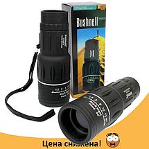 Монокуляр BUSHNELL з подвійною фокусуванням 16x52 + чохол - надпотужний компактний легкий Топ, фото 3
