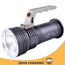 Фонарь прожектор Police BL-T801 - мощный супер яркий переносной ручной фонарик, фонарик с зумом, фото 3