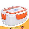 Ланч-бокс автомобільний електричний Electric Lunch box з підігрівом 1.05 л - Контейнер для їжі 12V, фото 4