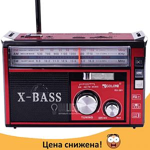 Радиоприемник с фонарем Golon RX-381 - Радио с MP3, USB/SD и LED фонариком