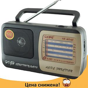 Радиоприемник KIPO KB-408AC - мощный Фм радиоприемник c usb, Fm радио