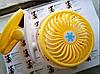 Мини вентилятор USB с прищепкой Mini Fan ML-F168 - вентилятор с аккумулятором на прищепке Желтый, фото 5