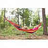 Гамак одномісний KingCamp Canvas Наммоск 200*100 см - Тканинний бавовняний підвісний гамак Топ, фото 5