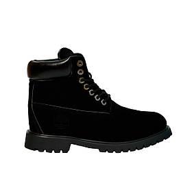 Мужские зимние ботинки Реплика Timberland 42 р Черные t0488, КОД: 1382219