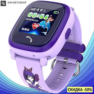 Дитячі Розумні годинник з GPS Smart baby watch DF25 - Дитячі водонепроицаемые смарт годинник телефон з