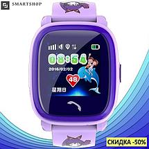 Детские Умные часы с GPS Smart baby watch DF25 - Детские водонепроицаемые смарт часы телефон с трекером, фото 3