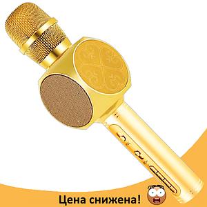 Микрофон караоке YS-63 2 в 1 - беспроводной Bluetooth микрофон - портативная колонка со слотом USB + TF card