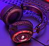 Ігрові навушники A5 зі світлодіодним підсвічуванням і мікрофоном - провідні комп'ютерні навушники USB, AUX,, фото 5