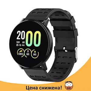 Фітнес-браслет Smart Band 119 Plus - Смарт годинник, фітнес браслет, фітнес годинники Чорні Топ