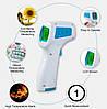 Термометр бесконтактный YHKY-2000 - электронный инфракрасный градусник, детский медицинский цифровой термометр, фото 6