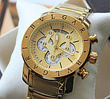 Чоловічі наручні годинники Bvlgari Gold, фото 2