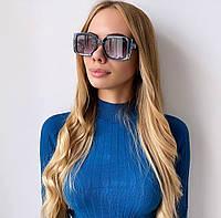 Жіночі сині сонцезахисні окуляри, фото 1