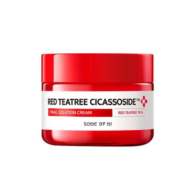 Успокаивающий крем с красным чайным деревом Some By Mi Red TeaTree Cicassoside Final Solution Cream 60 гр