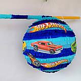 Піньята Hot Wheels хотвилс hotwheels машина машинки тачки паперова для свята, фото 3