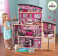 Кукольный домик KidKraft  Barbie Sparkle Mansion 65826