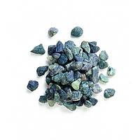 Камни декоративные Зеленая галька мраморная 7-15 мм