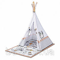 Развивающий коврик-палатка 3 в 1 Kinderkraft Tippy (KPTIPP00MUL0000)