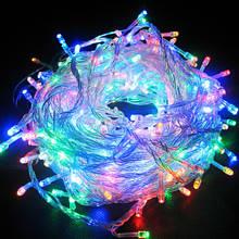 Новорічна гірлянда 100 led 100(кольорова)