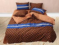 Комплект постельного белья   синий, разные размеры  S481