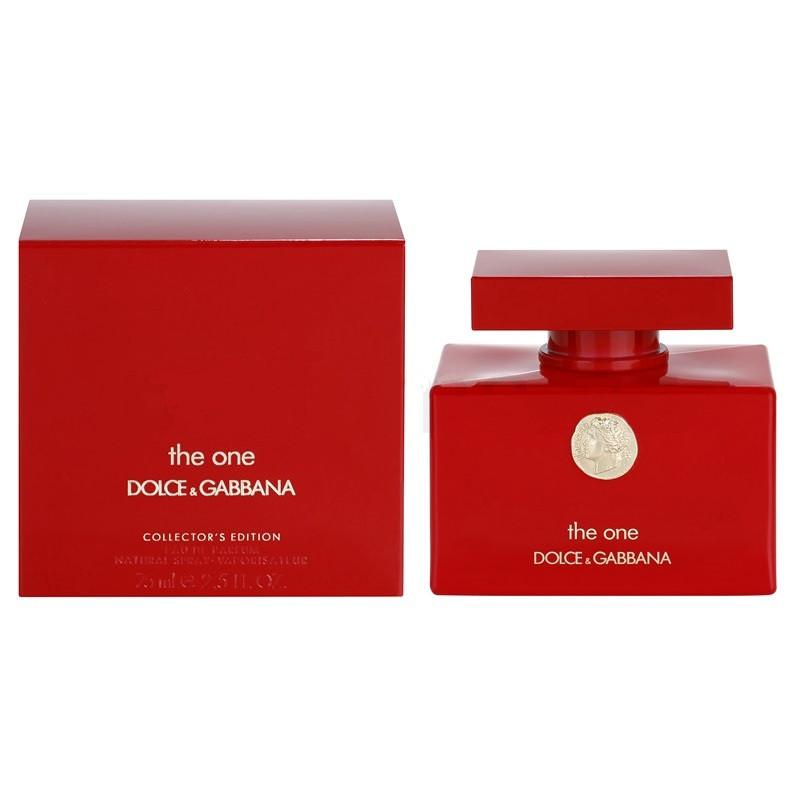 Dolce & Gabbana The One Collector's Edition парфюмированная вода 75 ml. (Дольче Габбана Коллекторс Эдишн)