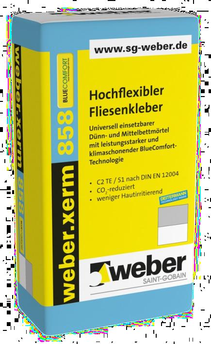 Weber.xerm 858 Blue Comfort (мешок - 25 кг)