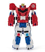 Роботи-Трансформери 2в1, Комбайнер, Оптімус і Стронгарм 15 см - Transformer TJ Combiner Optimus and Strongarm