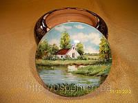 Сувенир Шкатулка деревянная расписная