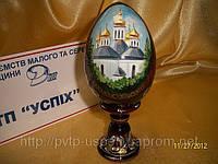 Яйцо на подставке пасхальное среднее Лавра