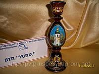 Подсвечник деревянный  Ильинская Церковь