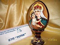 Яйцо на подставке Матерь Божия