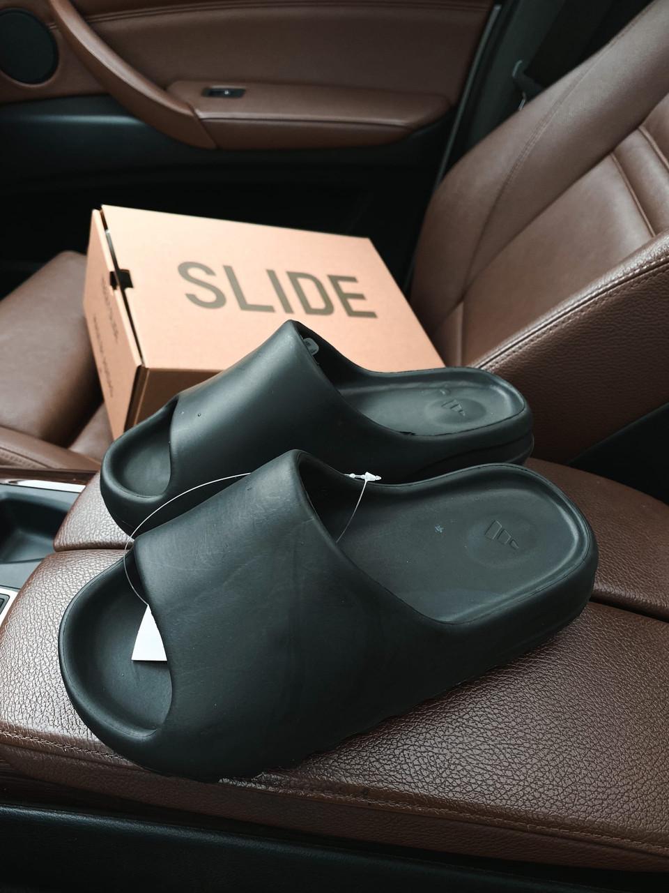 """Сланцы Adidas Yeezy Slide """"Черные"""""""