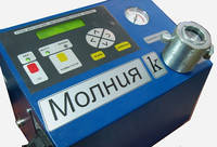 """Прибор для чистки свечей зажигания и коммутаторов с компрессором """"Молния-К"""""""