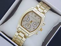 Мужские наручные часы Michael Kors золото на металлическом браслете, фото 1