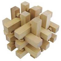Сборная деревянная головоломка 18 брусков