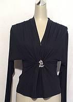 Кофточка нарядная женская Balizza черная РАЗМЕР+, фото 1