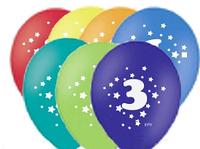 """Воздушные шары цифра """"3"""""""