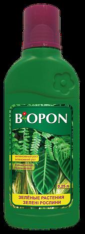 Добриво рідке для зелених рослин 0,25 л, Biopon, фото 2