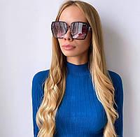 Жіночі чорні сонцезахисні окуляри, фото 1