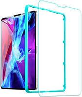 Защитное стекло с рамкой для поклейки ESR Premium Clear 9H Tempered Glass для iPad 10.2 (2019/2020) / Air 3