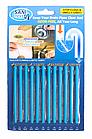 ОПТ Палички від засмічень Sani Sticks 12шт для кухні та ванної кімнати чистка каналізації труб, фото 3